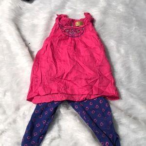 Toddler 2 Piece Nicole Miller Matching Set
